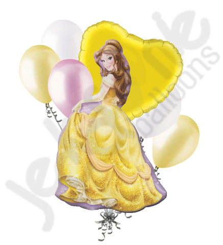 Disney Princess Belle Beauty & the Beast Balloon Bouquet