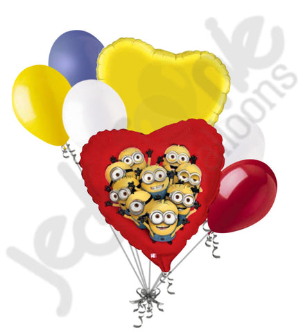 Despicable Me Minions Balloon Bouquet