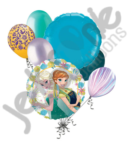 Disney Princess Frozen Fever Balloon Bouquet
