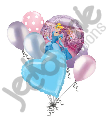 Disney Princess Cinderella Ball Balloon Bouquet