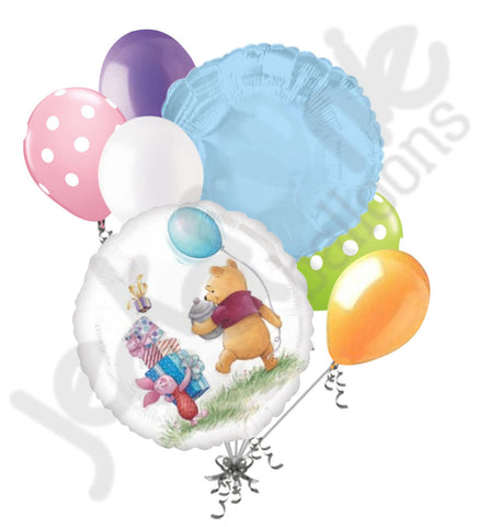 Disney Winnie Pooh Party Balloon Bouquet