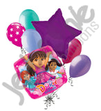 Dora and Friends Into the City Balloon Bouquet