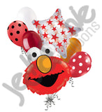 Elmo Head Sesame Street Balloon Bouquet