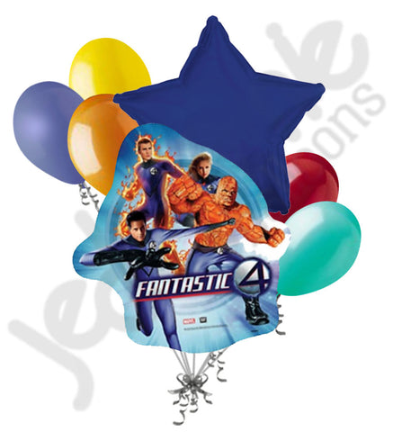 Fantastic Four Balloon Bouquet