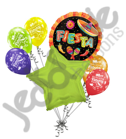 Fiesta Cinco de Mayo Celebration Balloon Bouquet