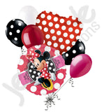Disney Minnie Mouse Style Balloon Bouquet