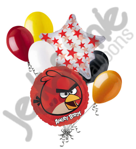 Angry Birds Red Leader Balloon Bouquet