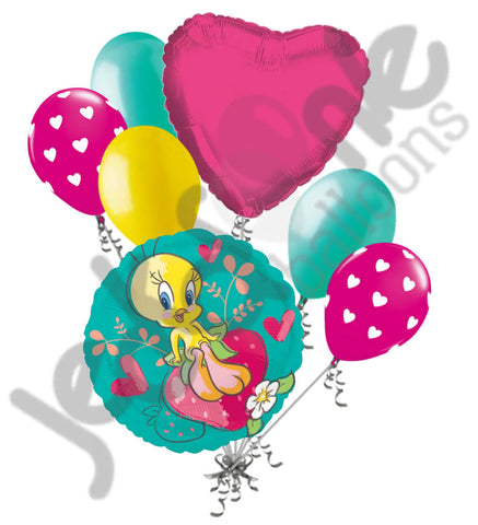 Tweety Bird Strawberry Balloon Bouquet