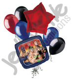 WWE Group Balloon Bouquet