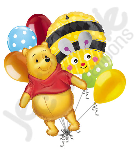 Big as Life Winnie the Pooh Balloon Bouquet