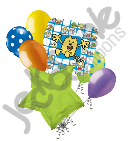 Wow Wow Wubbzy Balloon Bouquet