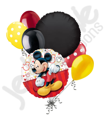 Disney Mickey Mouse Style Balloon Bouquet
