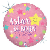 A Star is Born Baby Girl Balloon Bouquet
