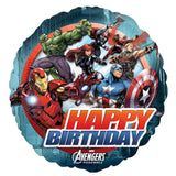Avengers Group Happy Birthday Balloon Bouquet