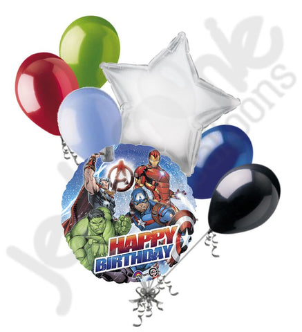 Avengers Happy Birthday Balloon Bouquet