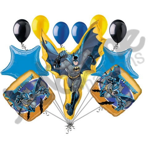 Batman Happy Birthday Balloon Bouquet Party