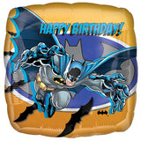 Batman Fighting Happy Birthday Balloon Bouquet