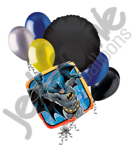 Batman In Action Balloon Bouquet