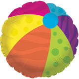 Colorful Summer Flip Flop Luau Balloon Bouquet