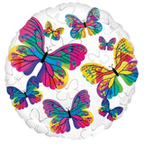 Beautiful Colorful Butterflies Collage Balloon Bouquet