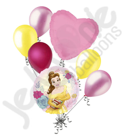 Disney Beauty & the Beast Princess Belle Balloon Bouquet