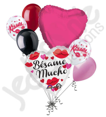 Bésame Mucho Love Balloon Bouquet