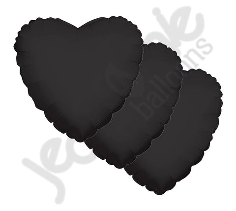 Black Heart Decorator Balloon