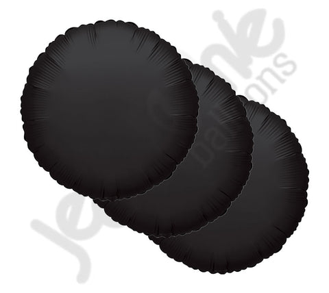 Black Round Decorator Balloon