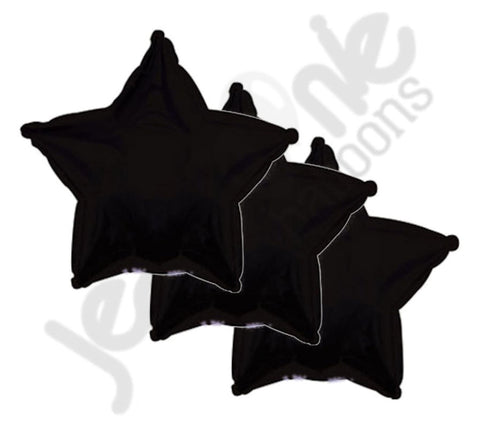 Black Star Decorator Balloon
