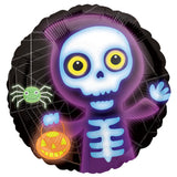 Boo Crew Skeleton Halloween Balloon Bouquet