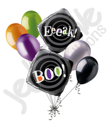 Boo! Eek! Halloween Balloon Bouquet