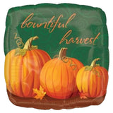 Bountiful Harvest Pumpkins Thanksgiving Balloon Bouquet