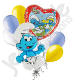 Clumsy Smurf Balloon Bouquet