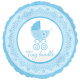 Baby Boy Buggy Tiny Bundle Balloon Bouquet