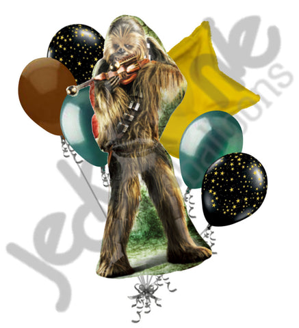 Chewbacca Star Wars Balloon Bouquet