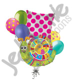 Colorful Garden Snail Balloon Bouquet