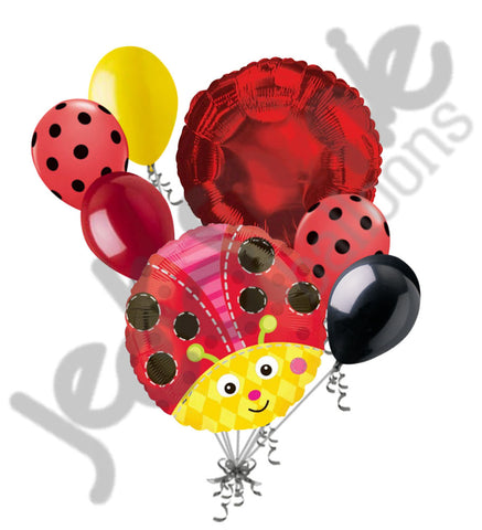 Cute Ladybug Balloon Bouquet