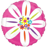 Colorful Daisy Flower Balloon Bouquet