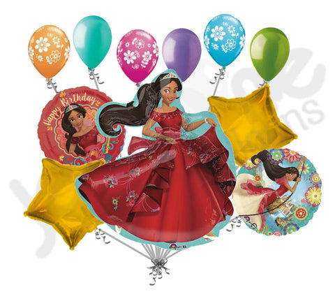 Elena of Avalor Happy Birthday Balloon Bouquet