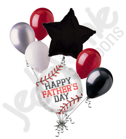 Baseball Father's Day Balloon Bouquet
