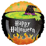 Bubbling Witch Cauldron Halloween Balloon Bouquet