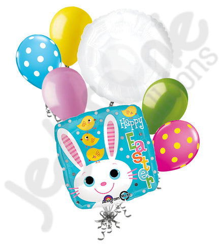 Bunny & Chicks Happy Easter Balloon Bouquet