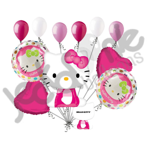 Hello Kitty Dots Balloon Bouquet