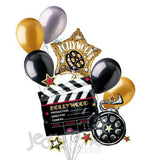 Hollywood Clapper Movie Party Balloon Bouquet