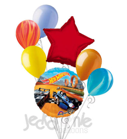 Hot Wheels Racer Track Balloon Bouquet