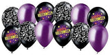 Halloween Themes & Damask Latex Balloons