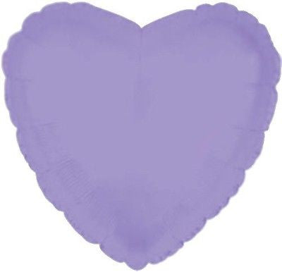 Lavender Heart Decorator Balloon