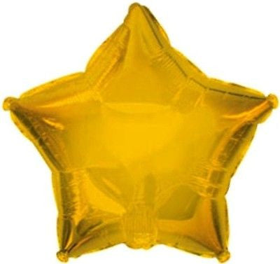 Gold Star Decorator Balloon