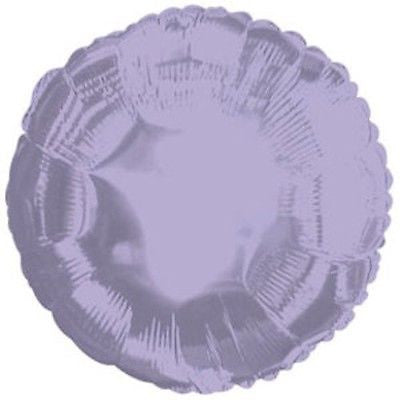 Lavender Round Decorator Balloon