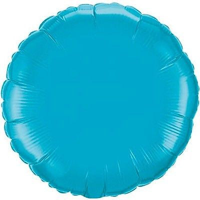 Turquoise Round Decorator Balloon